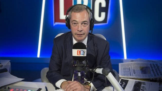 Nigel Farage threatens to Cancel his BBC TV Licence
