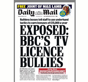 BBC TV Licence Bullies Exposed